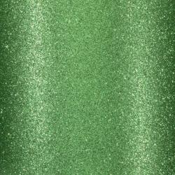 Florence • Glitter papier zelfklevend Groen 1 vel
