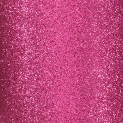 Florence • Glitter papier zelfklevend Fuchsia 1 vel