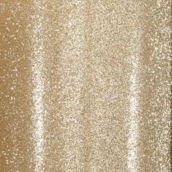Florence • Glitter papier zelfklevend Licht goud 1 vel