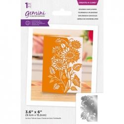 Gemini Splendid Sunflowers Create-a-Card Dies