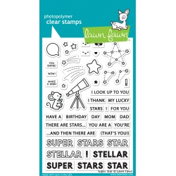 Lawn Fawn Super Star Clear Stamps