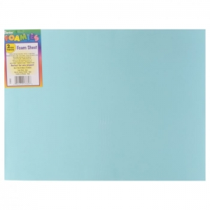 Darice • Foam sheet 2mm 22,5x30cm Aqua