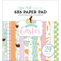 Echo Park Welcome Easter 6x6 Inch Paper Pad