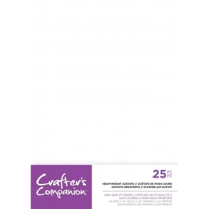 Crafter's Companion Heavyweight Acetate A5