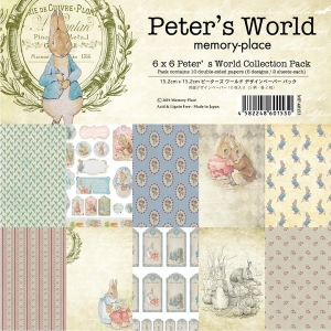 Memory Place Peter's World 6x6 Inch Paper Pack