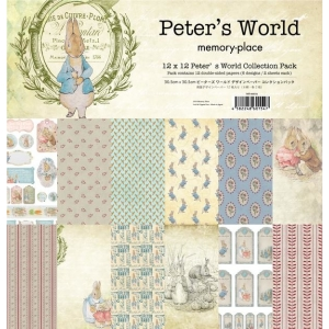 Memory Place Peter's World 12x12 Inch Paper Pack