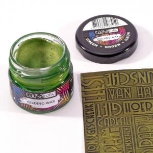 COOSA Crafts • Gilding wax metallic Groen 20ml
