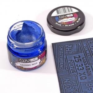 COOSA Crafts • Gilding wax metallic Blauw 20ml