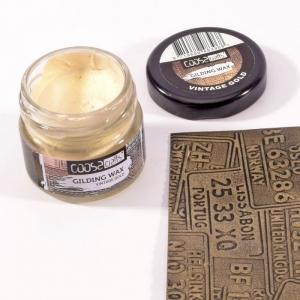COOSA Crafts • Gilding wax vintage Goud 20ml