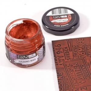COOSA Crafts • Gilding wax jewels Fire Agate 20ml