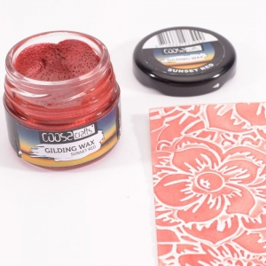 COOSA Crafts • Gilding wax twilight Sunset red