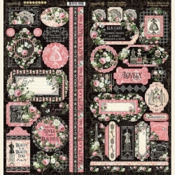 Graphic 45 Elegance Stickers