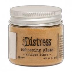 Ranger • Distress embossing glaze Antique linen