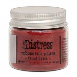 Ranger • Distress embossing glaze Fired brick