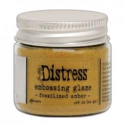 Ranger • Distress embossing glaze Fossilized amber