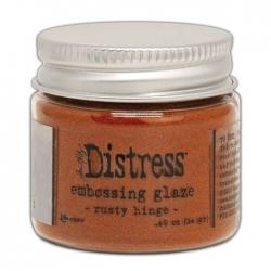 Ranger • Distress embossing glaze Rusty hinge