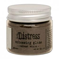 Ranger • Distress embossing glaze Walnut stain
