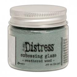 Ranger • Distress embossing glaze Weathered wood