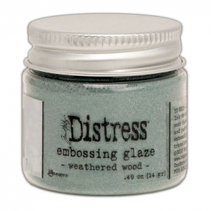 Ranger • Distress embossing glaze Weathered wood