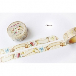 Memory Place Forest Friends Banner Washi Tape 15mm