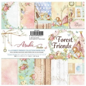 Memory Place Forest Friends 6x6 Inch Paper Pack