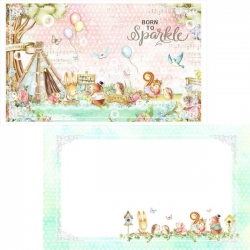 Memory Place Forest Friends Tea Time Journal Cards