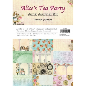 Memory Place Alice's Tea Party A4 Paper Pack
