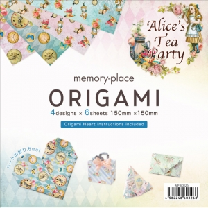Memory Place Alice's Tea Party Origami
