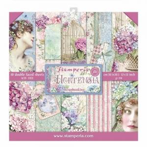 Stamperia Hortensia 12x12 Inch Paper Pack
