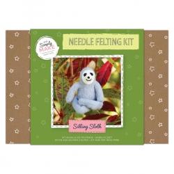 Simply Make Needle Felting Kit Sitting Sloth