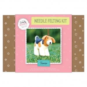 Simply Make Needle Felting Kit Terrier