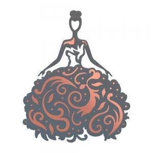 Couture Creations Lavish Ballroom Cut, Foil & Emboss Die Ball Gown