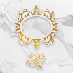 Couture Creations Magnolia Frames Cut, Foil & Emboss Die (CO726759)