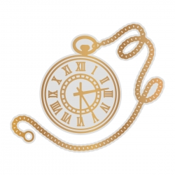 Couture Creations Pocket Watch Cut, Foil and Emboss Die (CO726854)