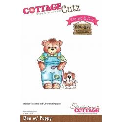 Cottage Cutz Ben with Puppy (CCS-022)