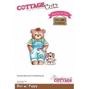 Cottage Cutz Ben with Puppy