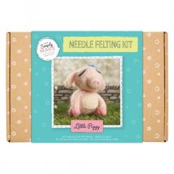 Simply Make Needle Felting Kit Little Piggy (DSM 106074)