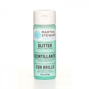 Martha Stewart • Verf 59ml glitter Wintermint