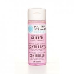 Martha Stewart • Verf 59ml glitter Bubble gum