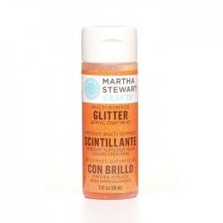 Martha Stewart • Verf 59ml glitter Orange sorbet