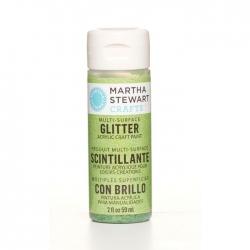 Martha Stewart • Verf 59ml glitter Peridot