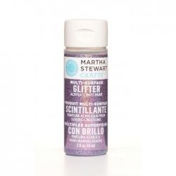 Martha Stewart • Verf 59ml glitter Charoite