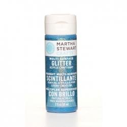 Martha Stewart • Verf 59ml glitter Lapis lazuli