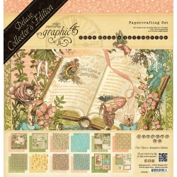 Graphic 45 Once Upon A Springtime 12x12 Inch Deluxe Collector's Edition