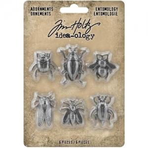 Idea-ology Tim Holtz Adornments Entomology