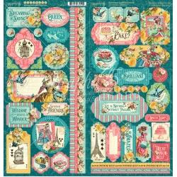 Graphic 45 Ephemera Queen Stickers (4502107) Cover-weight (4502107)