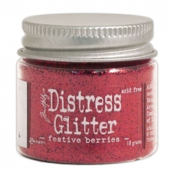 Ranger • Distress glitter Festive berries