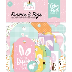 Echo Park Welcome Easter Frames & Tags