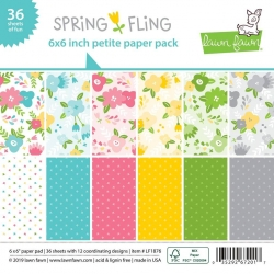 Lawn Fawn Spring Fling 6x6 Inch Paper Pad