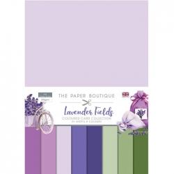 Paper Boutique • Lavender fields Colour card collection